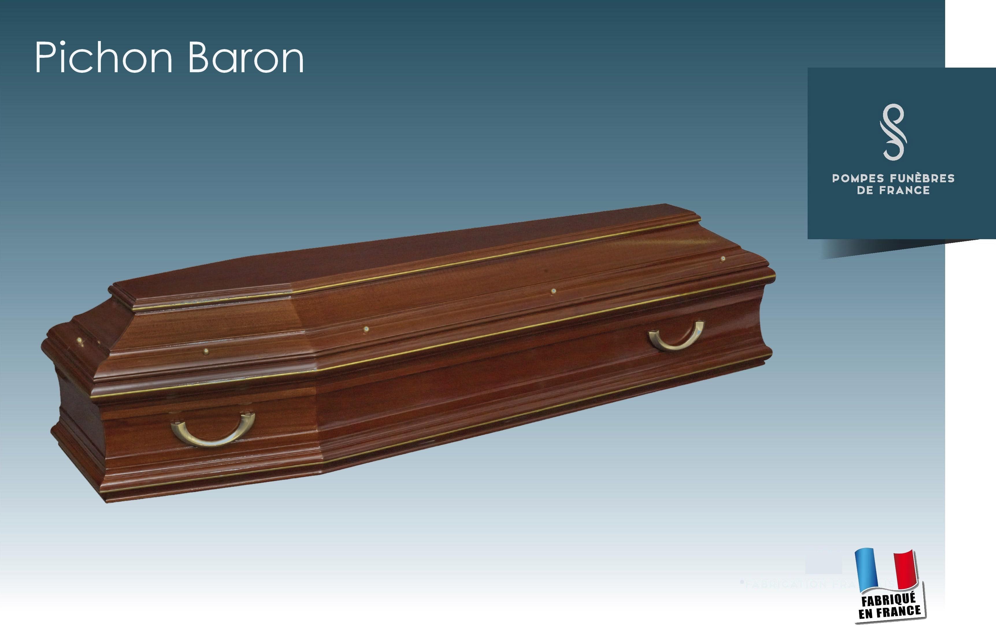 Cercueil Pichon Baron